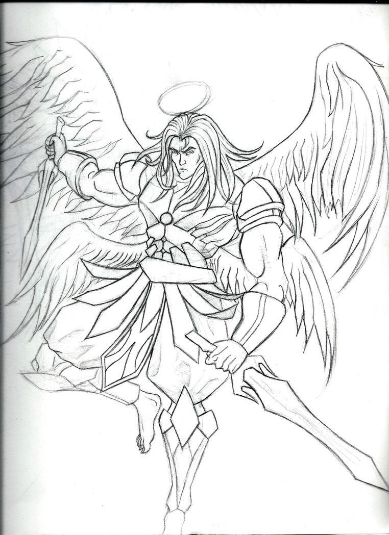 Angel warrior male by armageddon777 on DeviantArt
