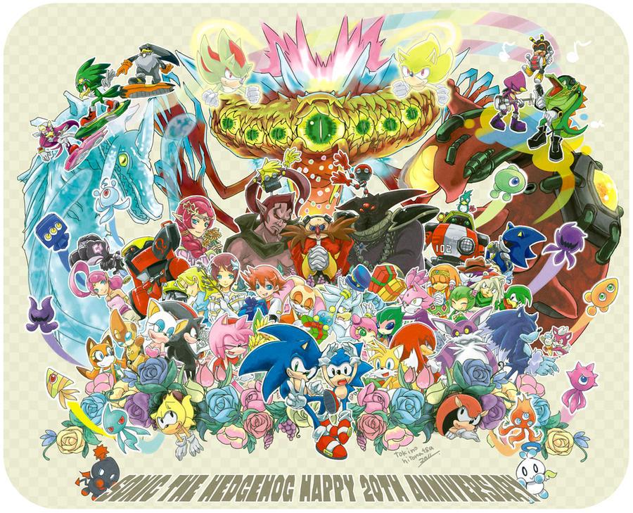 Happy Birthday Sonic by hitonatsu