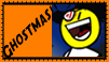 Blockhead Ghostmas stamp by ddrorangeman