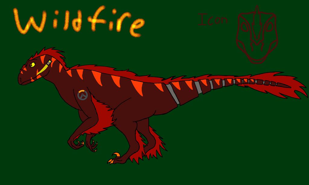 Overwatch OC: Wildfire by ShardTheIceNight
