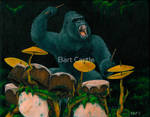 Gorilla Jungle Drums - Bart Castle by bartcastle