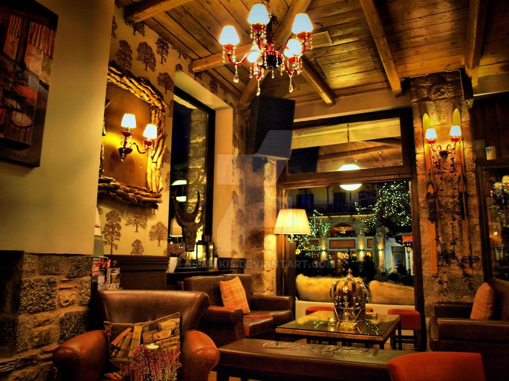 Arachova cafe interior by asimakis on deviantart