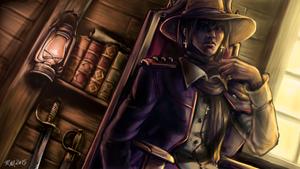 The Young Captain's Quarters by RasheruSuzie