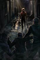 Dark Alley Mugging by RasheruSuzie