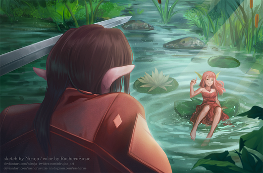 Fell in the Pond [AT Collab]