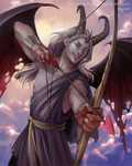 Demon Cupid by RasheruSuzie