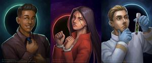 Trio of Space Portraits [C]