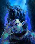 Edgy Wizard Boi by RasheruSuzie