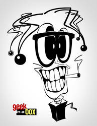 Geek in a Box Skribble by realmccoy-reyandale