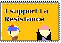 La resistance stamp by leapoldsgirlfriend