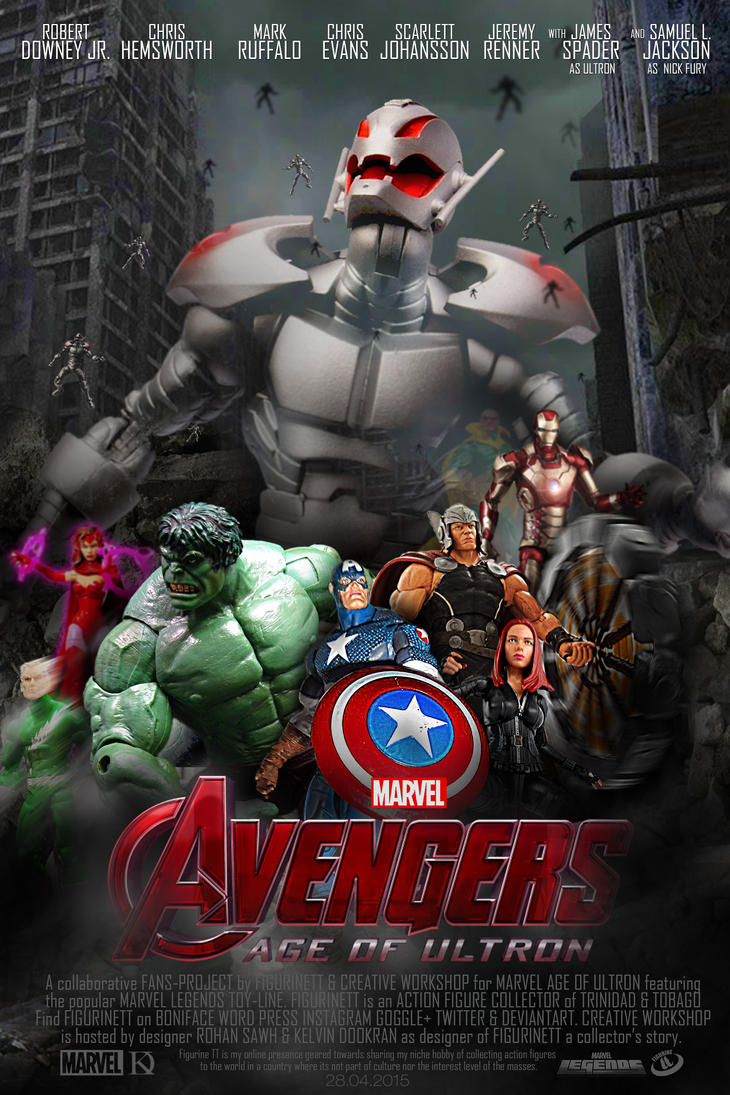 MArvel legends age of ultron fan poster. by Figurinett