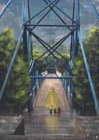 Bridge (Rain) by Kyokazu
