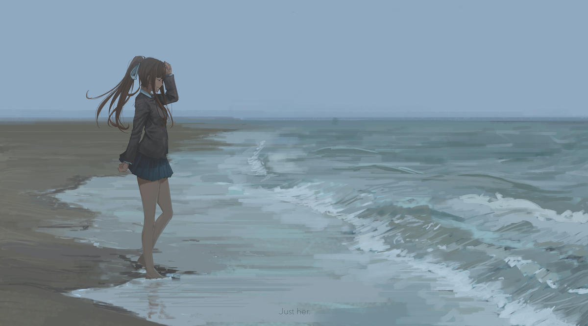 Just Monika by Kyokazu