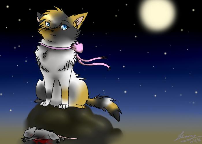 dim ... night -- by nefteenclaw