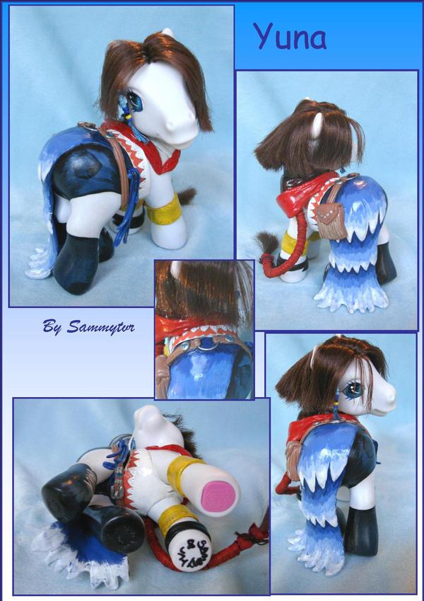 Final Fantasy Yuna by sammytvr