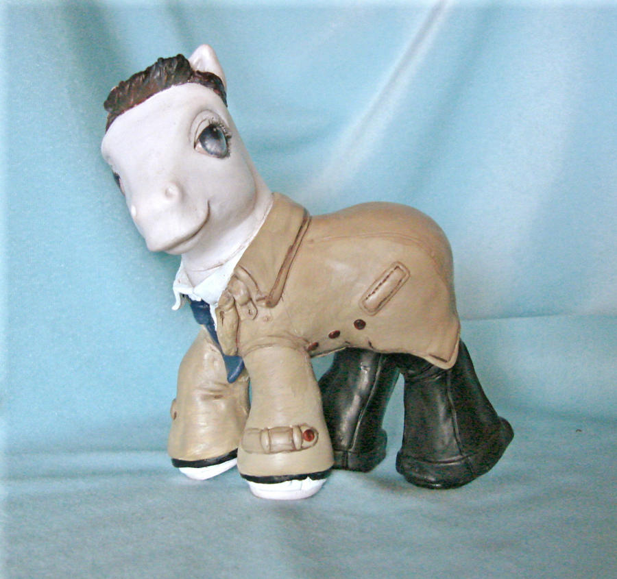 Photo of Castiel custom pony by sammytvr