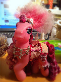 Katie Showgirl Birthday pony