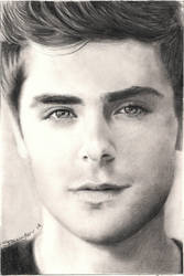 Zac Efron by sammytvr