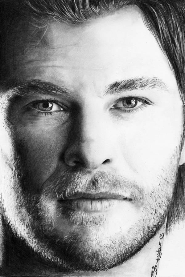 Chris Hemsworth by sammytvr
