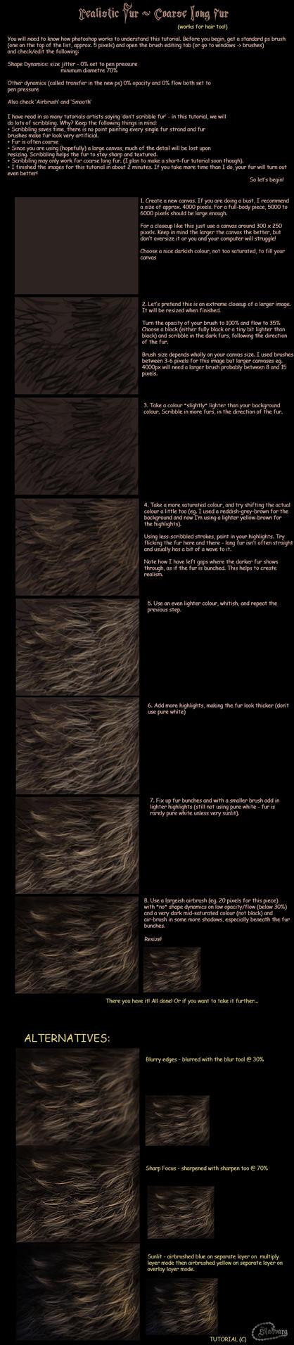 Coarse Fur Tutorial by Stadvarg