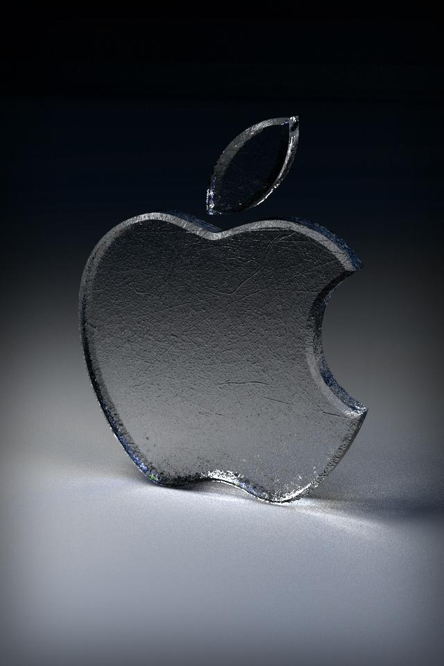 Iphone 4 Apple Wallpaper Glass by thekingofthevikings on ...