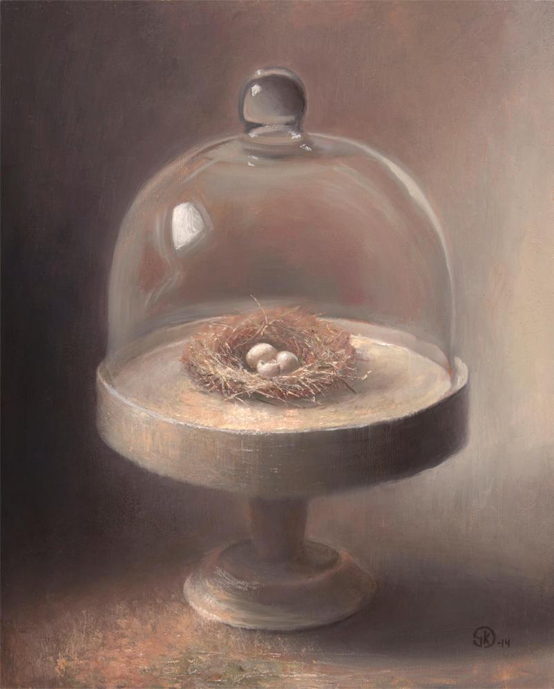 Still Life With Nest by sampoka