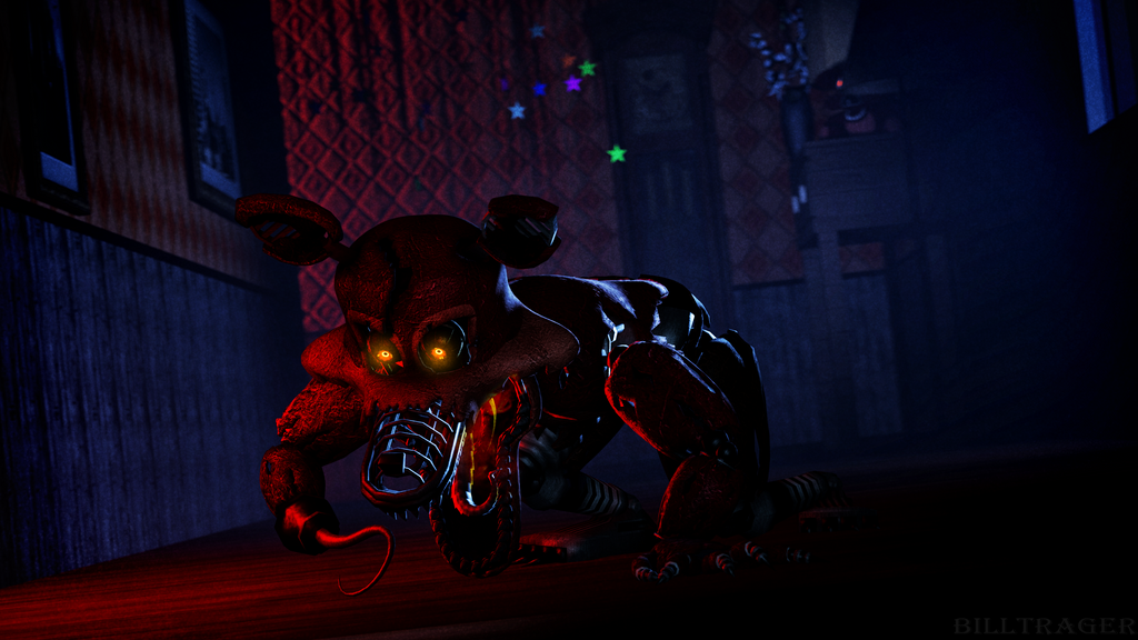 Sfm Nightmare Foxy By Billtrager On Deviantart