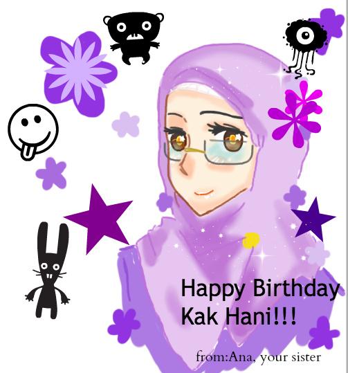 Happy Birthday Kak Hani By Zatytheawesome On Deviantart