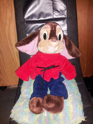 Fievel Plushie by katakana-21