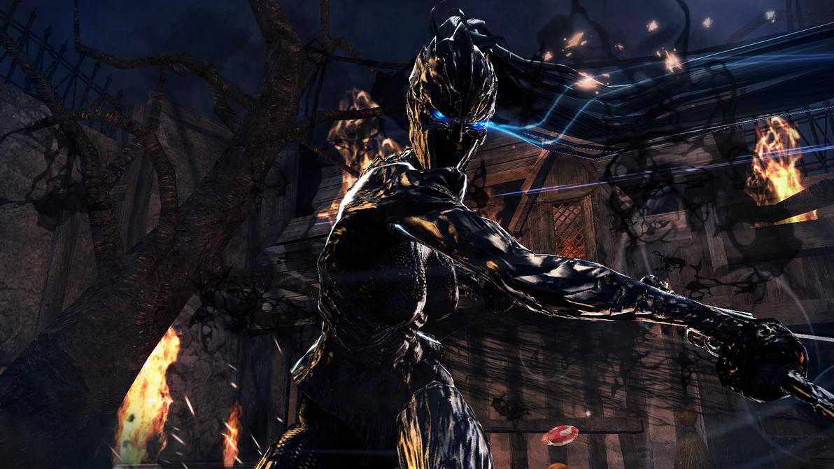 Vindictus Vella Dark Knight by Eyes-Turned-Skyward
