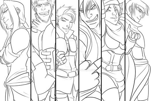We Are the Shadows - LINEART -