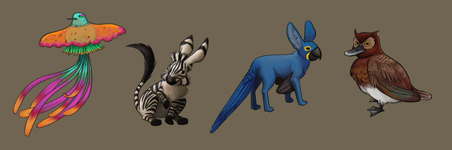 Mixed-up Animals by Vineris on DeviantArt