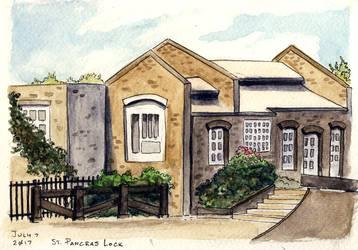 Lock Keeper's Cottage by Vineris