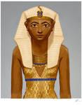 Queen Hatshepsut by Moontowhee