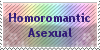 Homoromantic Asexual Stamp by Merlineum