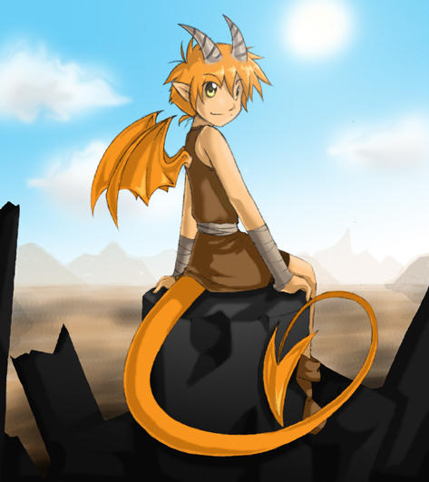 Dragon boy by veroro on deviantart - Anime boy dragon ...