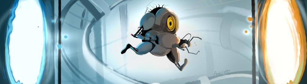 Portal 2: Minion version by JoEttaShinigami