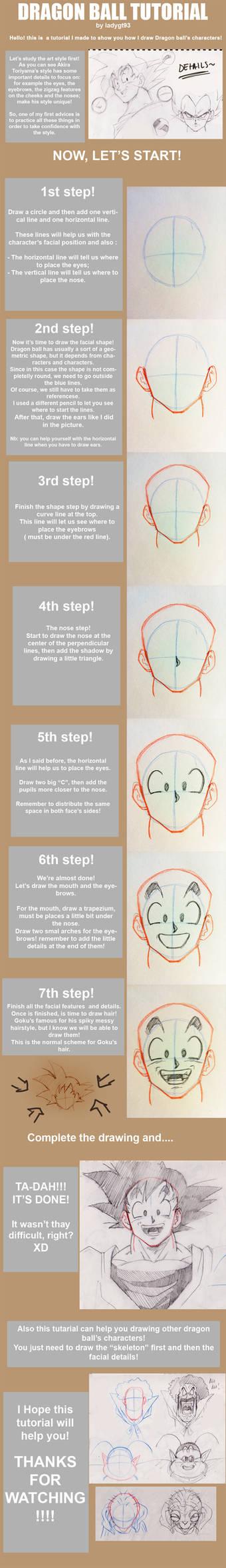 Dragon ball tutorial