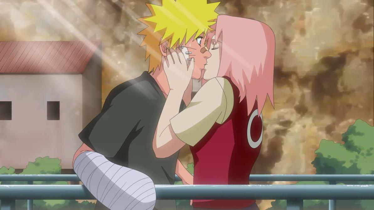 Naruto and Sakura by LadyGTNaruto Shippuden Naruto And Sakura Kiss