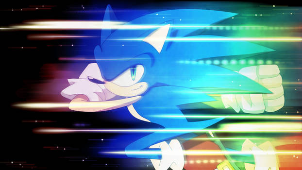 Sonic The Hedgehog by LadyGT