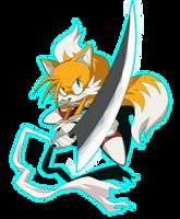 Tails with Zangetsu