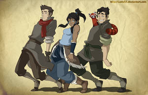 Legend Of Korra_ Bend with it Rock with it!