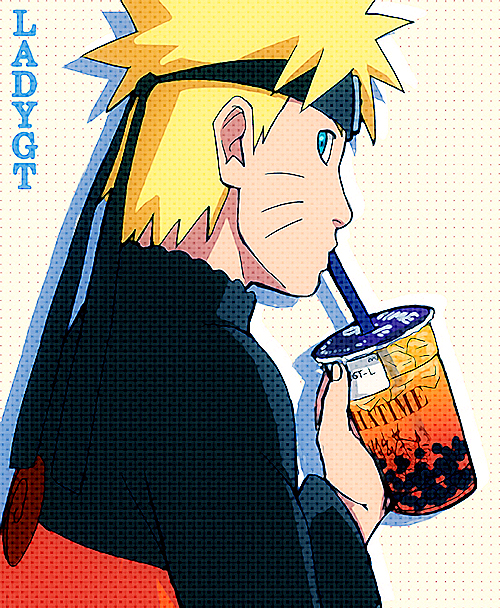 NARUTO X CHATIME by LadyGT
