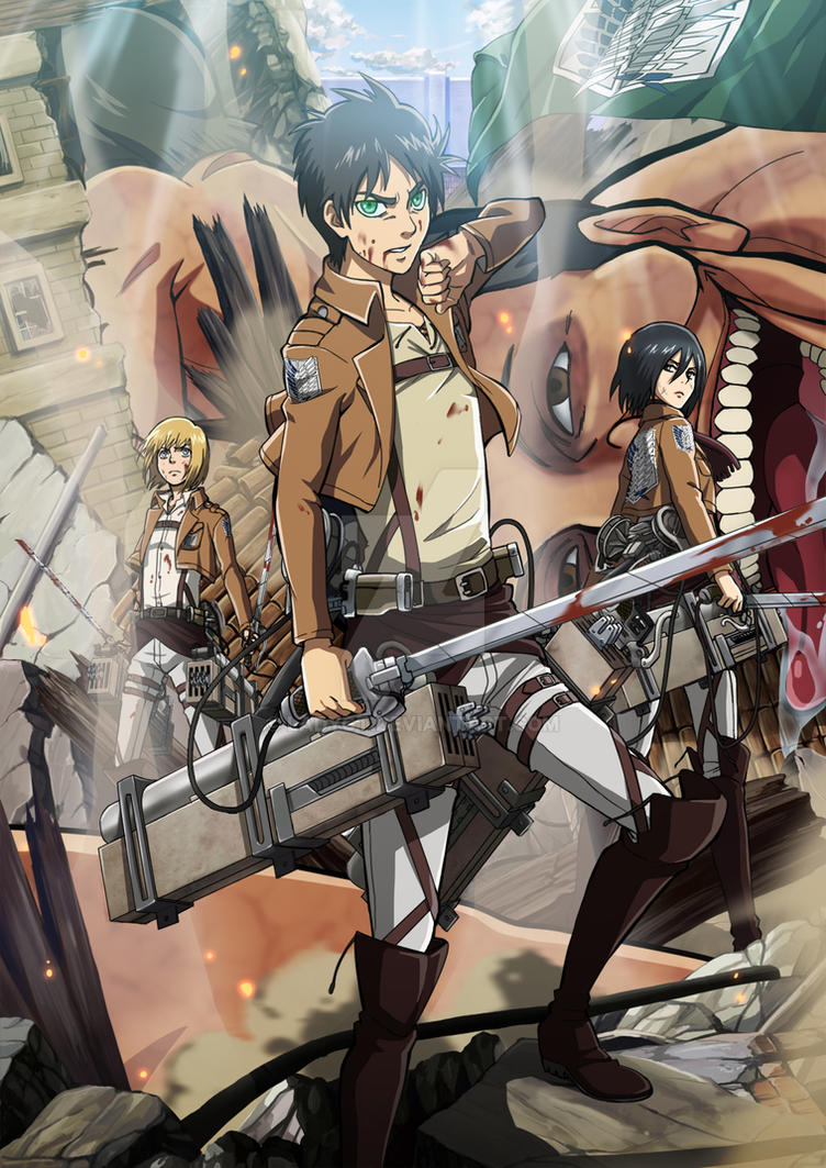 Attack on Titan by LadyGT