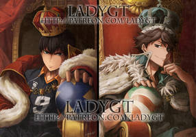 King Of the Court and Grand King by LadyGT
