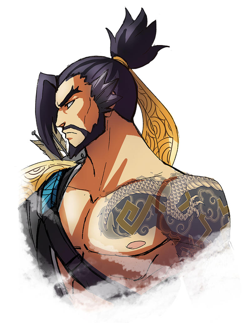 Hanzo - Overwatch by LadyGT