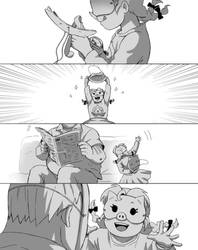 Overwatch Comic: Piggy P1 by LadyGT