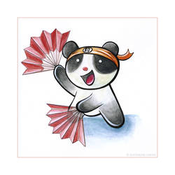 Panda Dance Tiem by snowmask