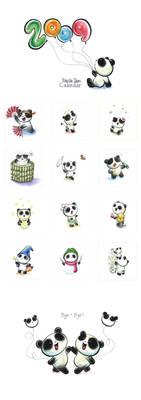 Panda Tiem Calendar