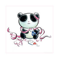 Panda Pink Tiem